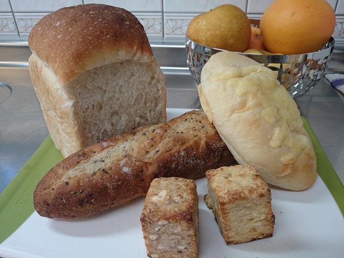 我が家に届いたクロノのパン